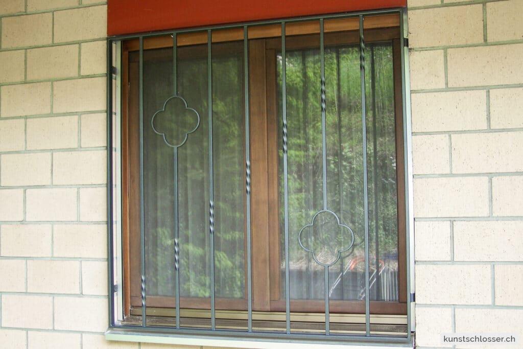 Dekoratives Fenstergitter