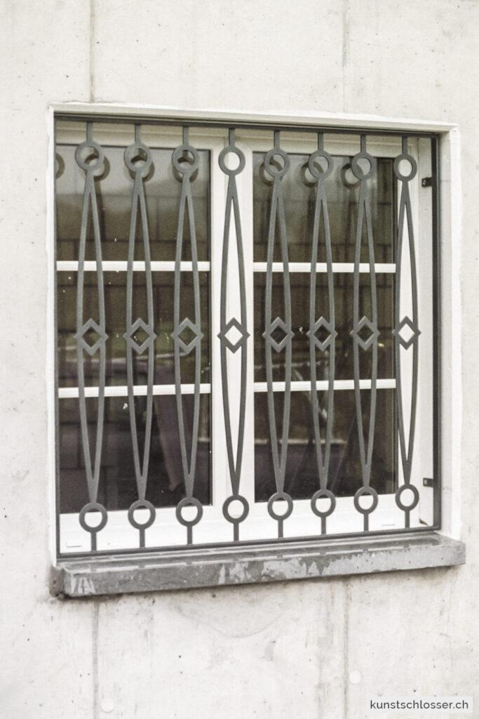 Fenstergitter modernes Design