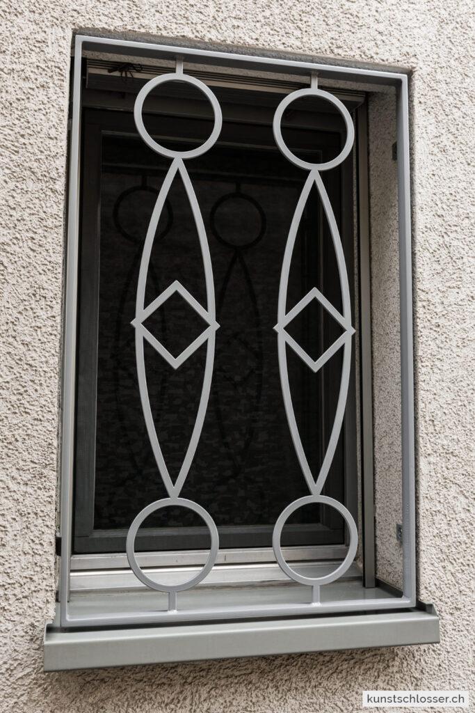 Fenstergitter modern