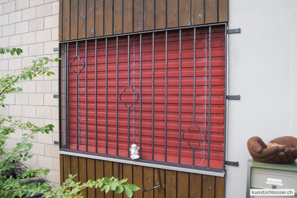 Fensterschutzgitter anthrazit