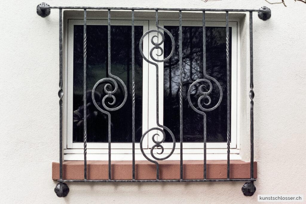 Schmiedeeisen Fenstergitter